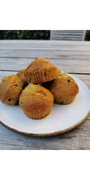 Mes muffins abricot noisette